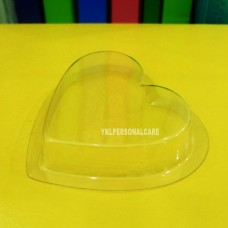 PLASTIC SOAP CONTAINER LOVE(90Degree)  color cosmetic ingredients, gmp, oem, soap base, oils, natural, melt & pour