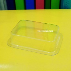 PLASTIC SOAP CONTAINER SQUARE(SMALL)  color cosmetic ingredients, gmp, oem, soap base, oils, natural, melt & pour