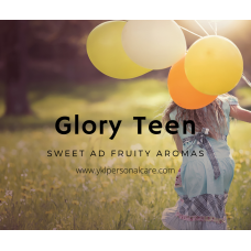 GLORY TEEN PERFUME color cosmetic ingredients, gmp, oem, soap base, oils, natural, melt & pour