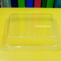PLASTIC SOAP CONTAINER SQUARE(L)