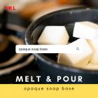 [1KG] GLYCERINE OPAQUE SOAP BASE