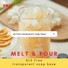 [1kg] SLS FREE TRANSPARENT SOAP BASE