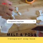 [1kg] TRANSPARENT SOAP BASE