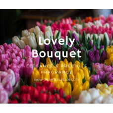 LOVELY BOUQUET PERFUME color cosmetic ingredients, gmp, oem, soap base, oils, natural, melt & pour